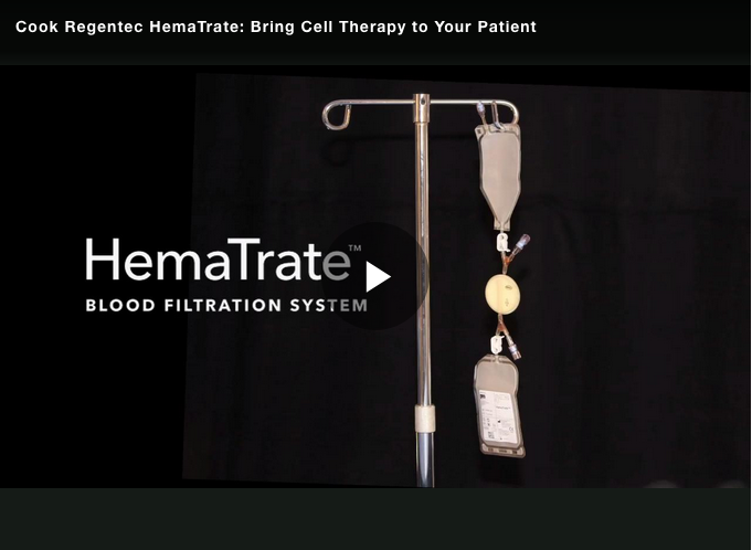 HemaTrate®: Bring Cell Therapy to Your Patient